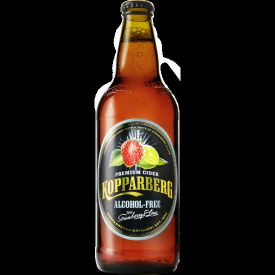KOPPARBERG CIDER STRAWBERRY & LIME 0% 500ML (ALKOHOLMENTES)